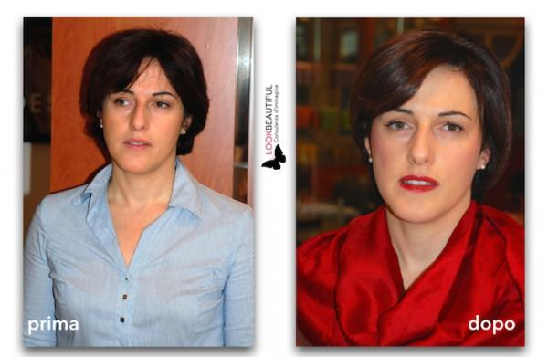 Uso efficace del colore-primaedopo-makeover-hairstyle