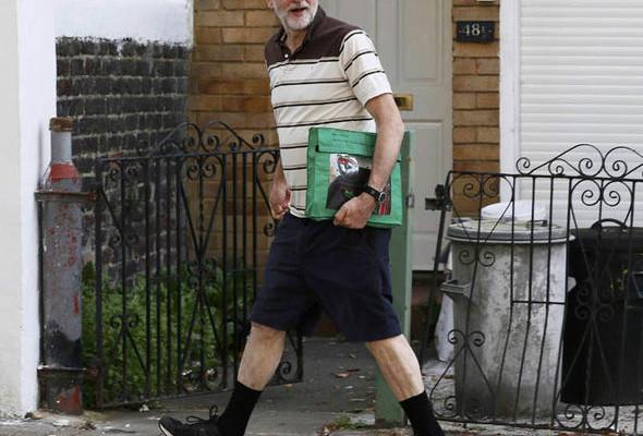 corbyn-2015 il giorno prima delle elzioni del leader Labour