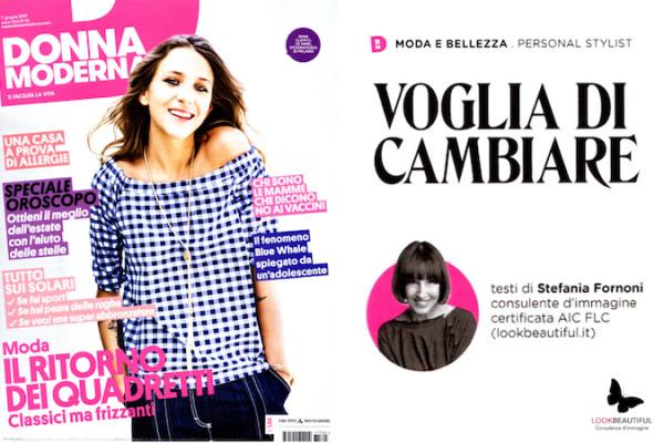 Stefania Fornoni per Donna Moderna
