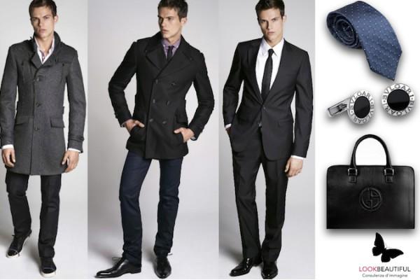 uomo-stile-moda-nero-grigio-armani-cravatta-gemelli-bulgari